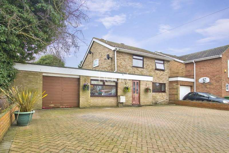 3 Bedrooms Detached House for sale in Shakespeare Road, Eaton Socon
