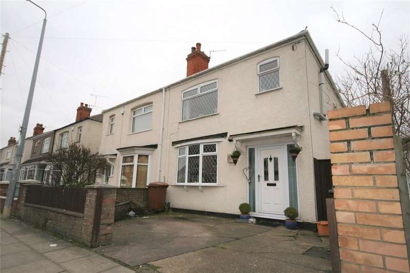 3 Bedrooms Semi Detached House for sale in Holyoake Road, Old Clee, DN32