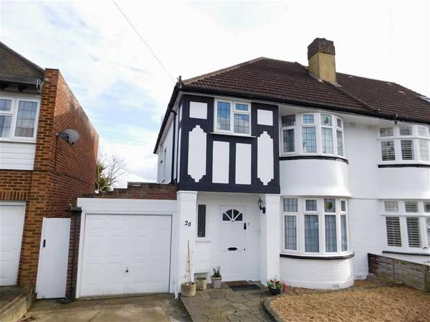 3 Bedrooms Semi Detached House for sale in Pembroke Avenue, Surbiton