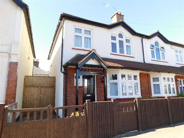 3 Bedrooms Semi Detached House for sale in Eversley Road, Surbiton
