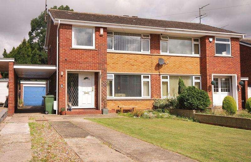 3 Bedrooms Semi Detached House for sale in Wheatlands Drive, Beverley