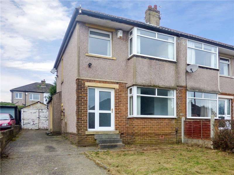 3 Bedrooms Semi Detached House for sale in Brantwood Crescent, Bradford, West Yorkshire