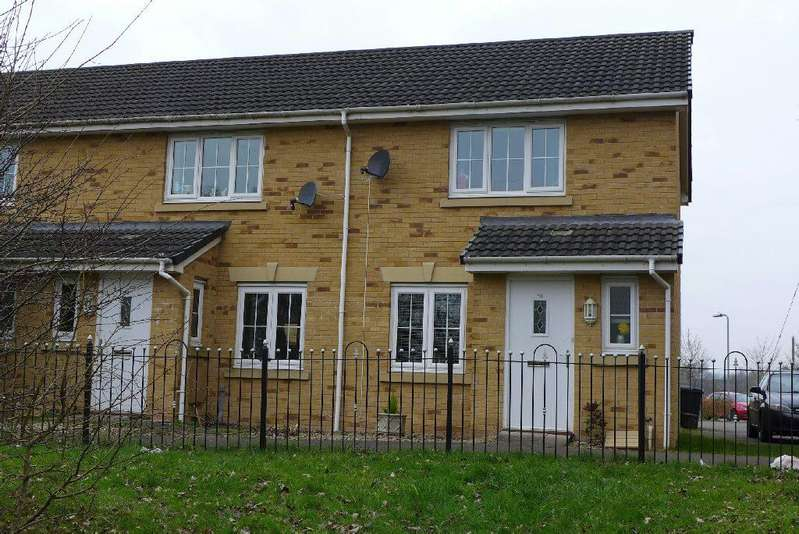 2 Bedrooms End Of Terrace House for sale in Schooner Walk, Newport