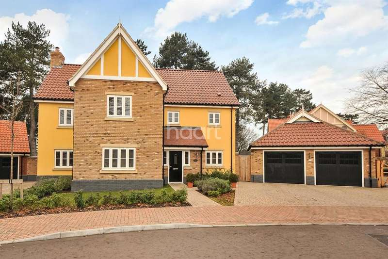 6 Bedrooms Detached House for sale in Beechwood Drive, Purdis Farm, IP3