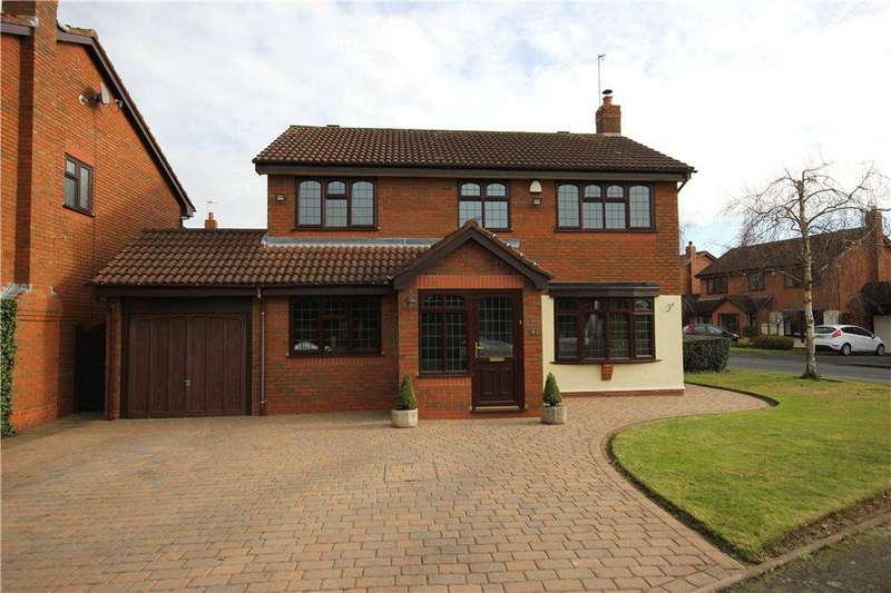4 Bedrooms Detached House for sale in Farrier Way, Wall Heath, Kingswinford, West Midlands, DY6
