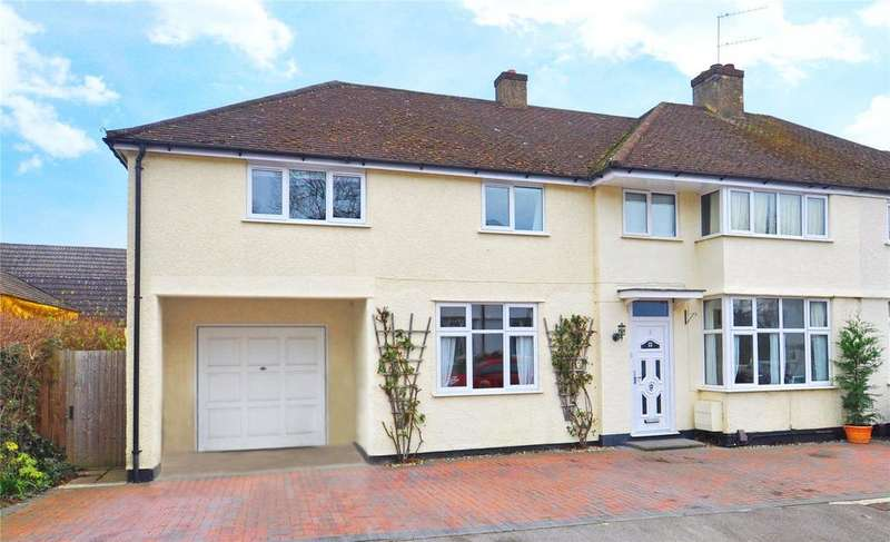5 Bedrooms Semi Detached House for sale in Fairway Close, Park Street, St. Albans, Hertfordshire