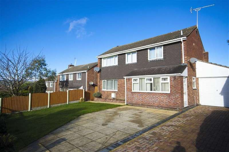 3 Bedrooms Detached House for sale in Callow Lane, Minsterley, Shrewsbury, Shropshire