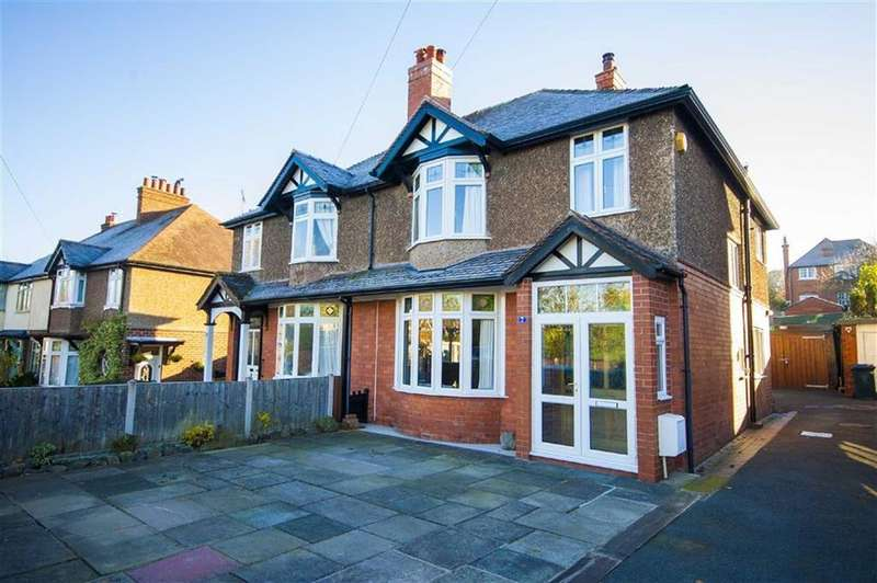 4 Bedrooms Semi Detached House for sale in Woodfield Road, Copthorne, Shrewsbury, Shropshire