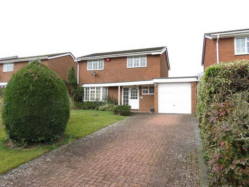 3 Bedrooms Detached House for sale in St James Road, Belvidere Paddocks, Shrewsbury, Shropshire