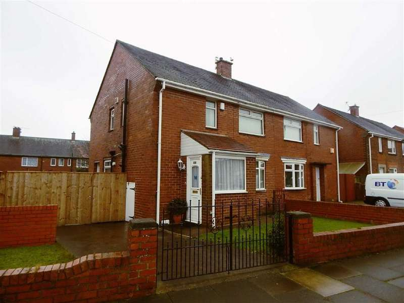 3 Bedrooms Semi Detached House for sale in Langdale Gardens, Howdon, Wallsend, NE28