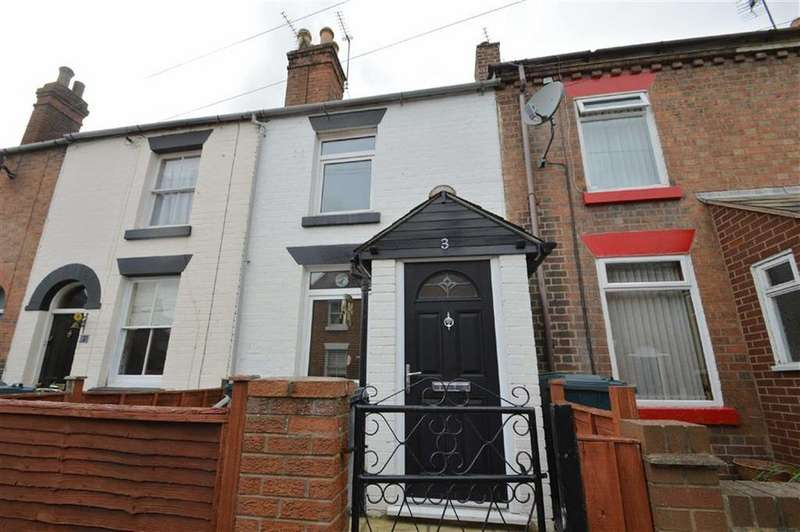 2 Bedrooms Terraced House for sale in Lindley Street, Castlefields, Shrewsbury