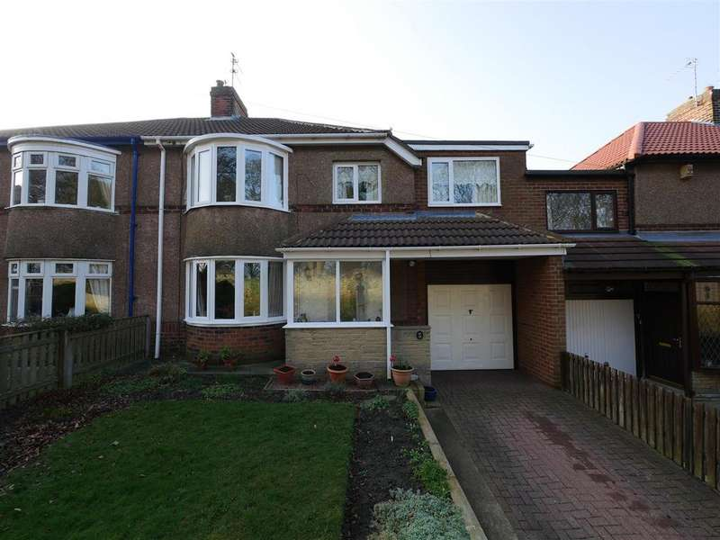 4 Bedrooms Semi Detached House for sale in West Park, East Herrington, Sunderland