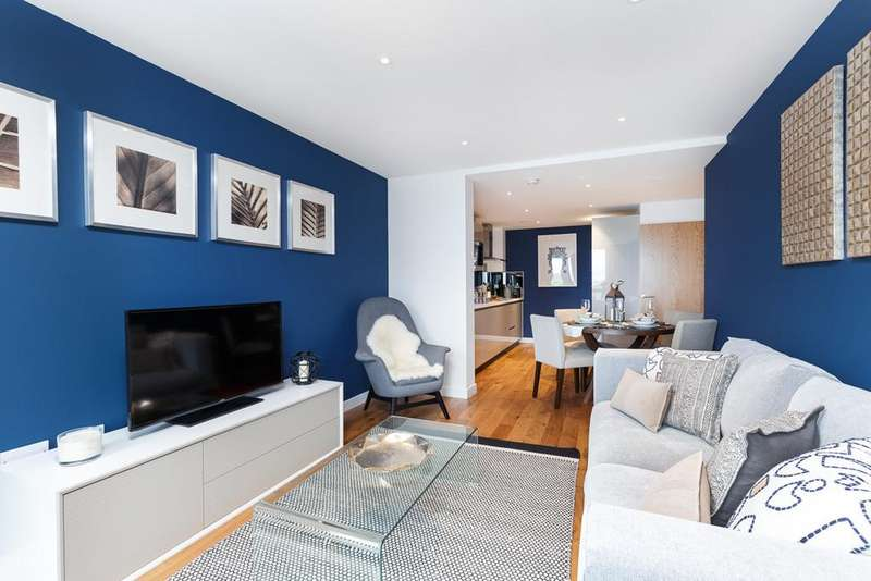 2 Bedrooms Flat for sale in Goldhawk Road, London, W12