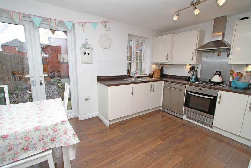 3 Bedrooms Terraced House for sale in Derwent Drive, Lakeside, DN4 5PB