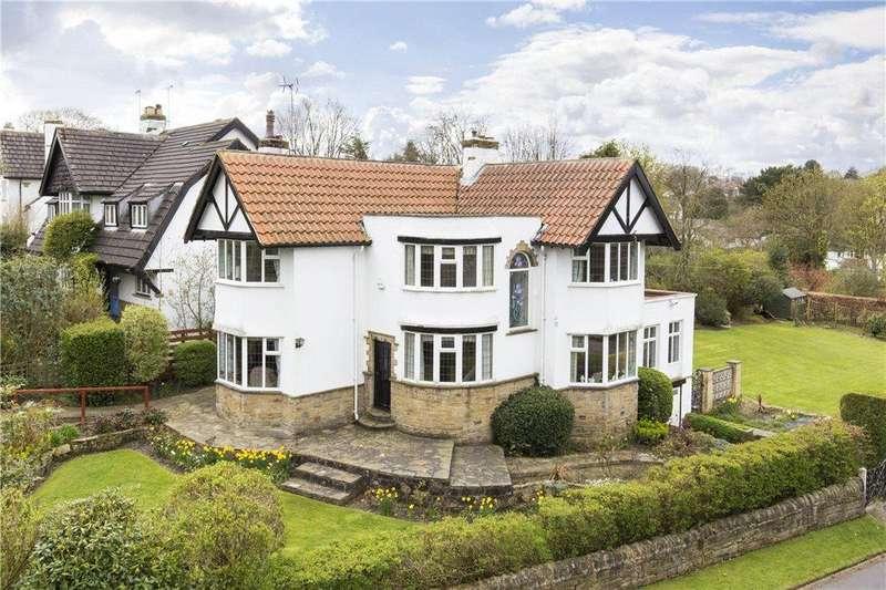 4 Bedrooms Detached House for sale in Creskeld Lane, Bramhope, Leeds, West Yorkshire