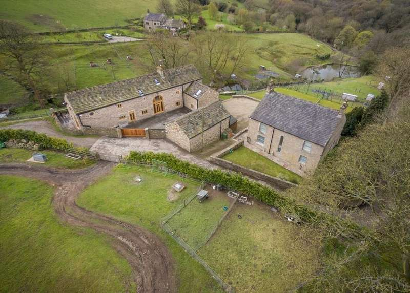 9 Bedrooms Detached House for sale in Greenhill Farm and Barn, Mill Brow