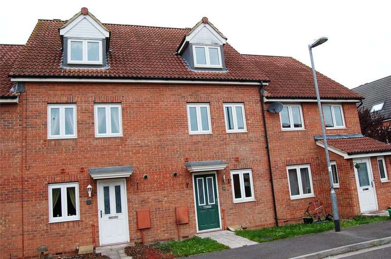 3 Bedrooms Terraced House for sale in Cavalier Close, Bridgwater, Somerset, TA6