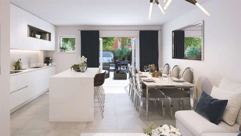3 Bedrooms Terraced House for sale in Woodside Square, Muswell Hill, London, N10