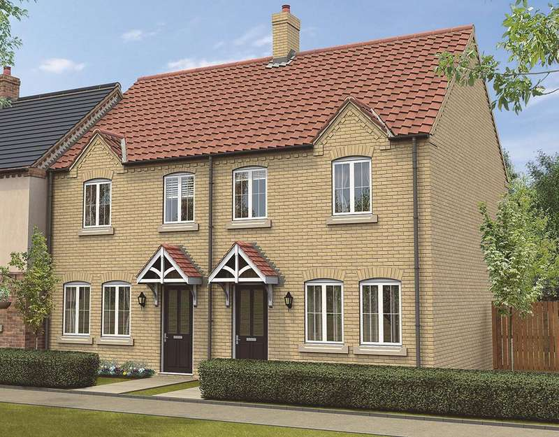 3 Bedrooms Semi Detached House for sale in Plot 19, The Chelsea, The Swale, Corringham Road