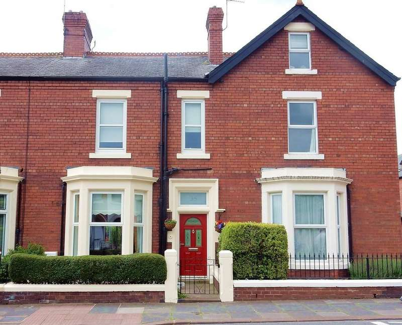 3 Bedrooms Town House for sale in Dalston Road, Carlisle