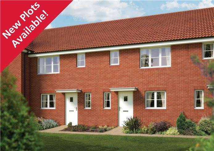 3 Bedrooms Terraced House for sale in The Southwold, Plot 5 Morris Gardens, Fordham Road, Soham