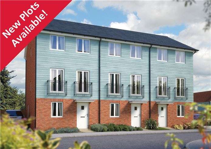 3 Bedrooms Town House for sale in The Winchcombe, Plot 75 Morris Gardens, Fordham Road, Soham