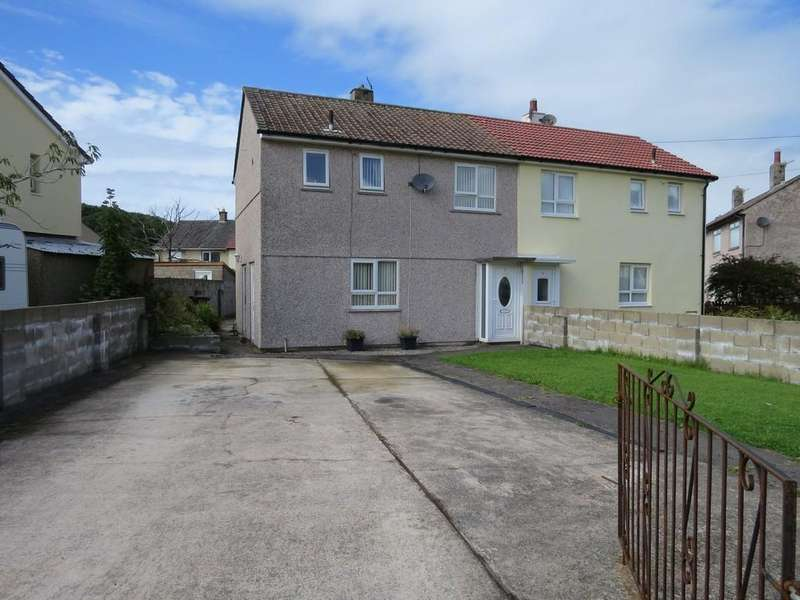 2 Bedrooms Semi Detached House for sale in Croasdale Avenue, Whitehaven, Cumbria