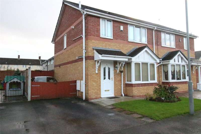 3 Bedrooms Semi Detached House for sale in Griffin Close, Liverpool, Merseyside, L11