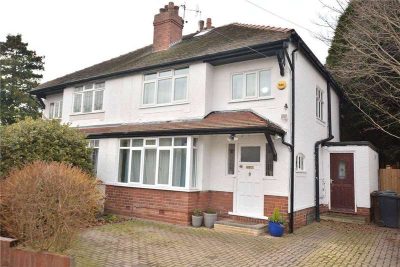 3 Bedrooms Semi Detached House for sale in Wyncliffe Gardens, Moortown, Leeds