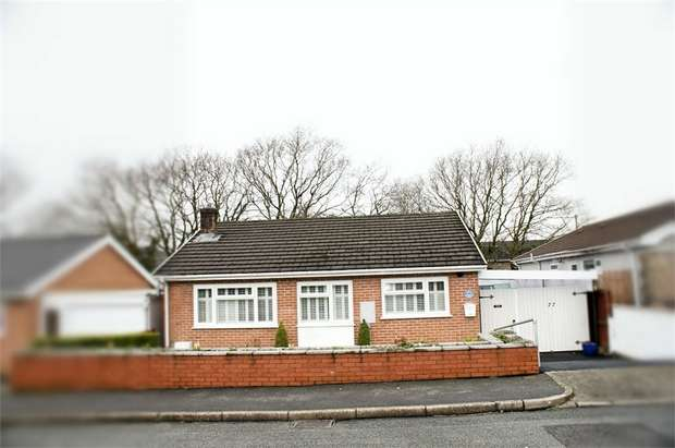 2 Bedrooms Detached Bungalow for sale in Waun Daniel, Rhos, Pontardawe, Swansea