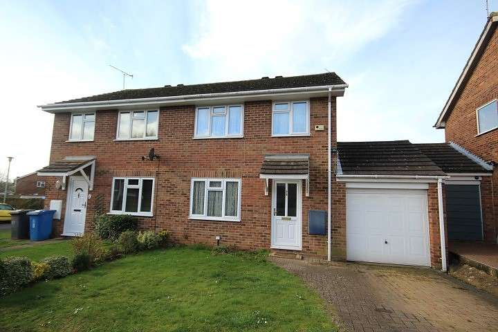 3 Bedrooms Semi Detached House for sale in Bissley Drive, Woodlands Park, Maidenhead, SL6