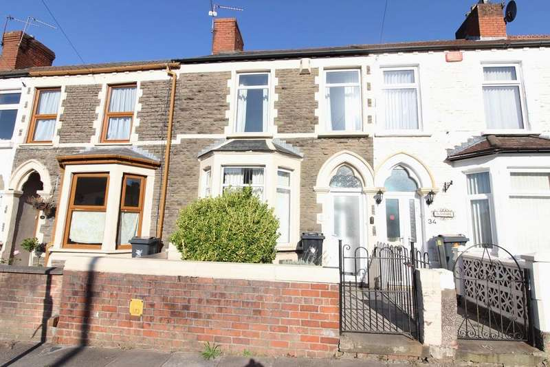 3 Bedrooms Terraced House for sale in Pantbach Rd, Birchgrove