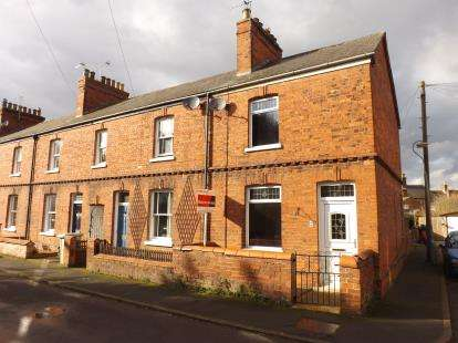2 Bedrooms End Of Terrace House for sale in Alexandra Road, Louth