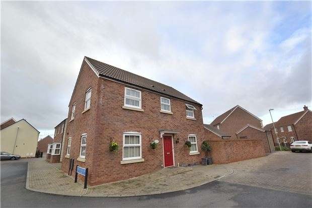 4 Bedrooms Detached House for sale in Wainfleet Avenue Kingsway, Quedgeley, GLOUCESTER, GL2 2FE