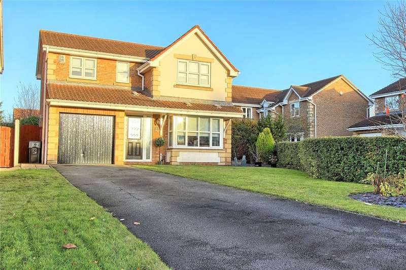 4 Bedrooms Detached House for sale in Foxgloves, Coulby Newham