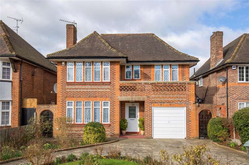 4 Bedrooms Detached House for sale in Woodside Avenue, Woodside Park, London, N12