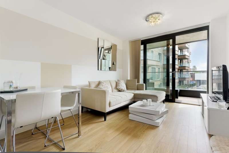 1 Bedroom Apartment Flat for sale in Connaught Heights, Agnes George Walk, Silvertown, E16