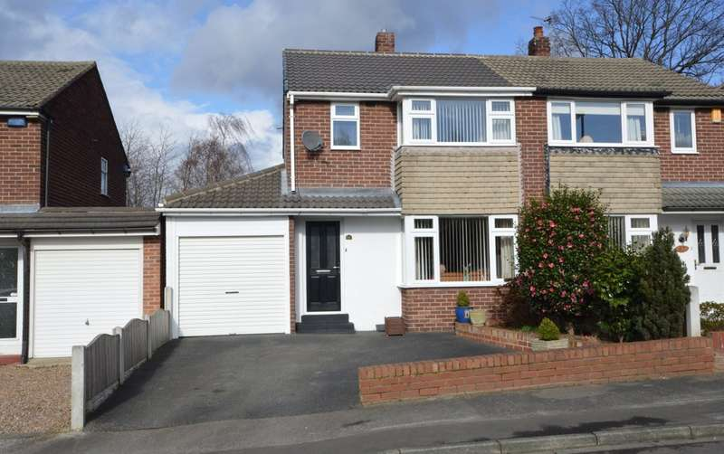 3 Bedrooms Semi Detached House for sale in Woolgreaves Drive, Sandal