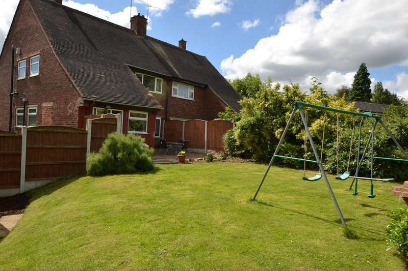 3 Bedrooms Semi Detached House for sale in GROVE DRIVE, South Kirkby