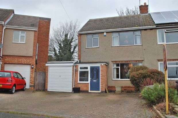 3 Bedrooms Semi Detached House for sale in Edgehill Road, Duston, Northampton NN5 6BZ