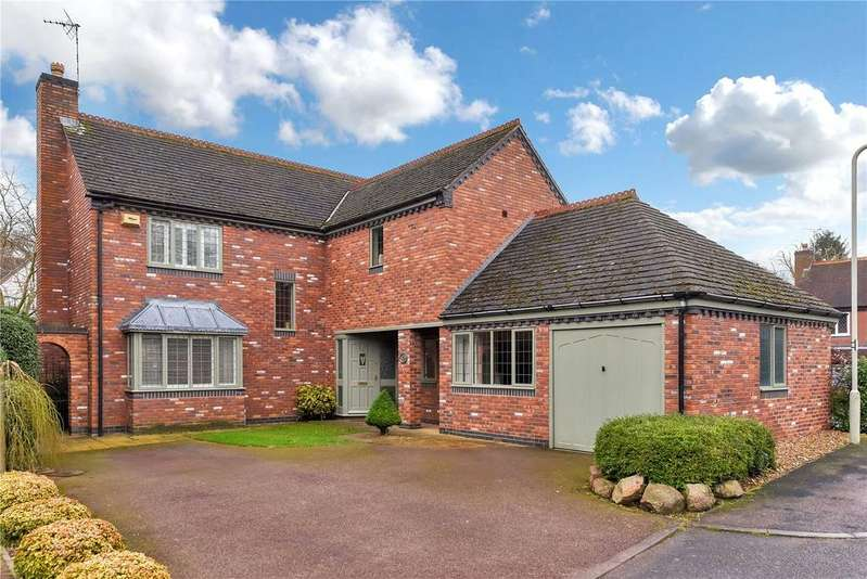 4 Bedrooms Detached House for sale in Sanders Road, Quorn, Loughborough