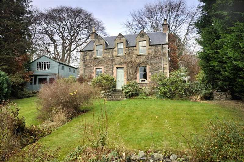 3 Bedrooms Detached House for sale in Mayfield, Gattonside, Melrose, Scottish Borders