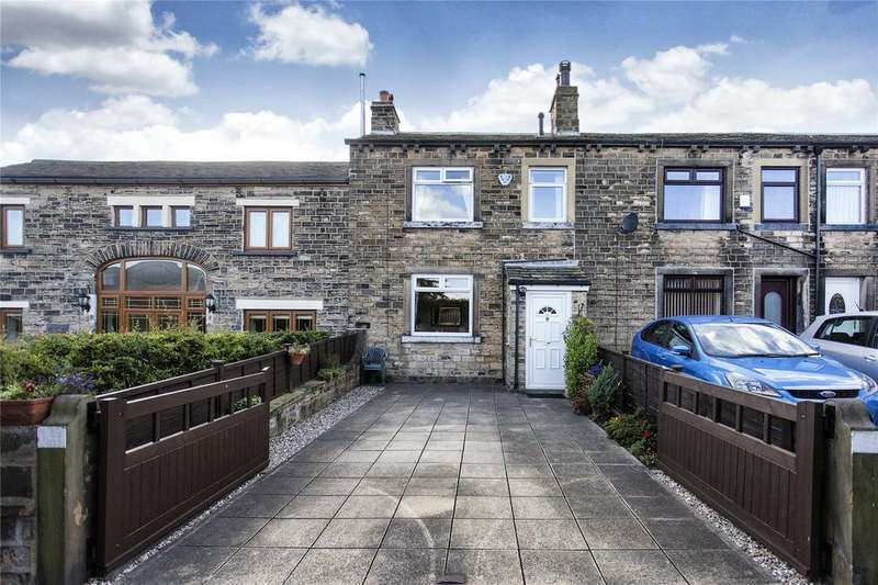 3 Bedrooms Terraced House for sale in Kitson Hill Road, Mirfield, West Yorkshire, WF14