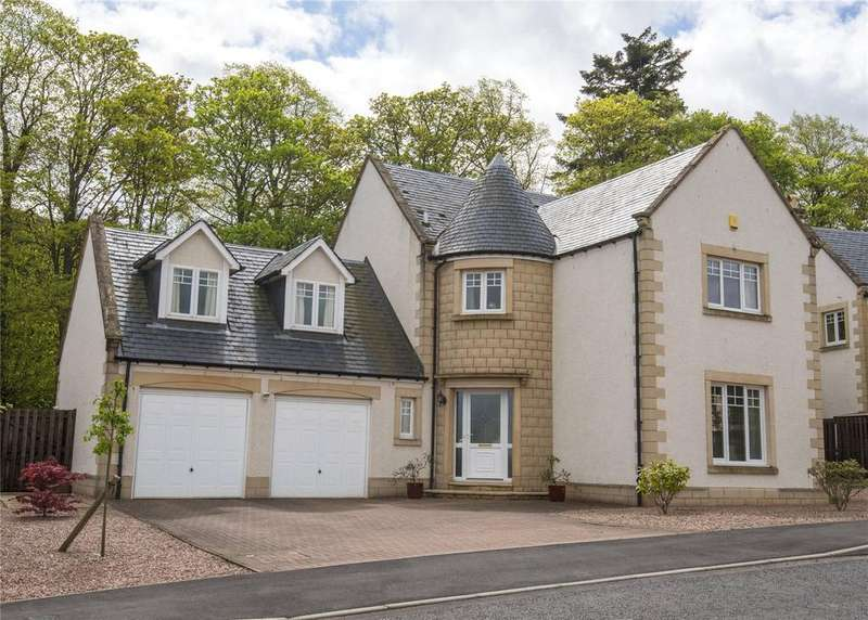 5 Bedrooms Detached House for sale in Harleyburn Court, Melrose, Scottish Borders