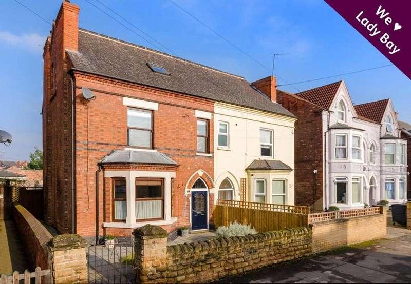 4 Bedrooms Semi Detached House for sale in Trent Boulevard, West Bridgford, Nottingham, NG2