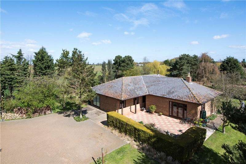 4 Bedrooms Detached Bungalow for sale in Mill Lane, Everton, Sandy, Bedfordshire