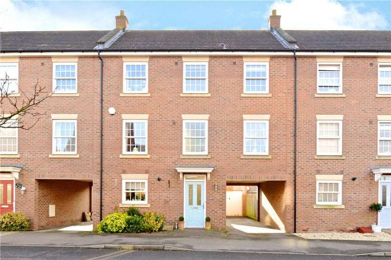 4 Bedrooms Terraced House for sale in Greensand View, Woburn Sands, Milton Keynes, Buckinghamshire