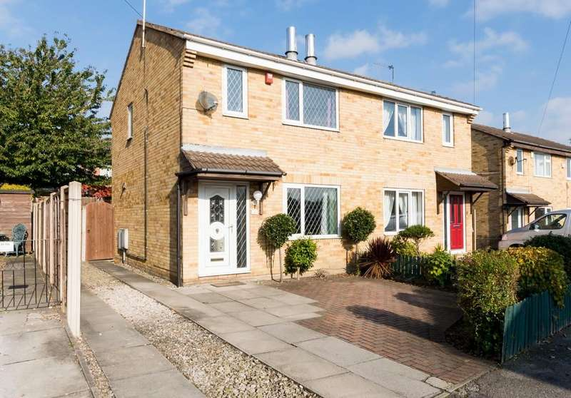 3 Bedrooms Semi Detached House for sale in Nestfield Close, Pontefract