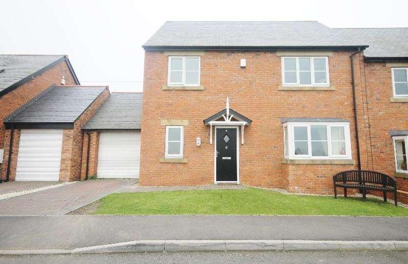 3 Bedrooms Semi Detached House for sale in Angel View, Edmondsley