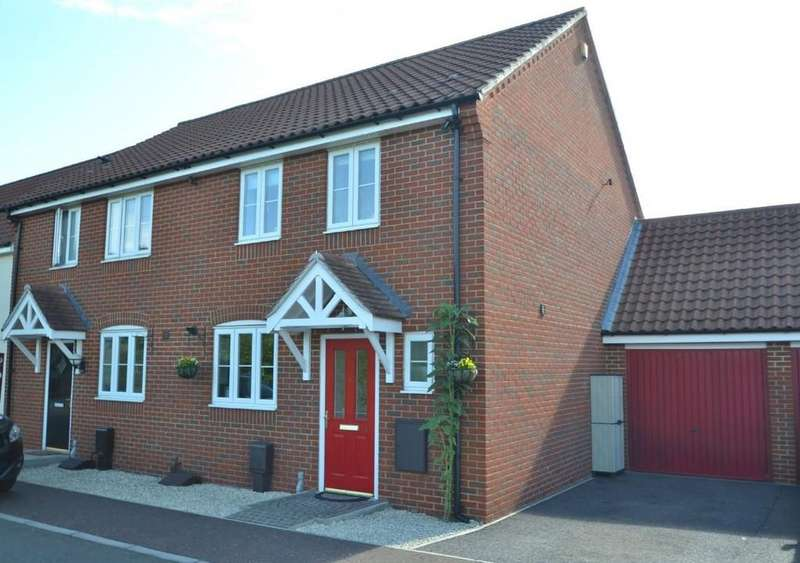 3 Bedrooms Semi Detached House for sale in Costessey , Norwich